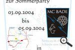 Einladung » Sommerparty » 2004